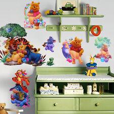 DIY Winnie The Pooh Kunst Wand Sticker Aufkleber Wandsticker Kinder Baby
