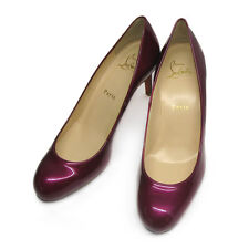 Limited Edition Christian Louboutin Cranberry Simple Pumps 70 - 38