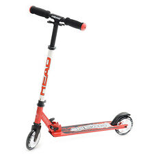 Head » Scooter 125mm Rollen « Cityroller Klapp Tretroller H5SC35 red/black