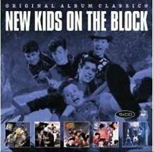 NEW KIDS ON THE BLOCK 5CD NEW ST/Hangin' Tough/Merry Christmas/Step/No More