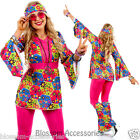 K19 60s 70s Go Go Retro Hippie Dancing Groovy Party Disco Fancy Dress Up Costume