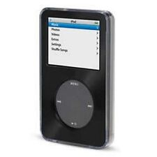Black Apple iPod Classic Aluminum Plated Hard Case Cover 6th 80 120gb 7th 160gb