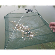 Folded Fishing Net Small Fish Shrimp Minnow Crab Baits Cast Mesh Cage Trap