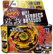 Hades Kerbecs / Hell Kerbecs Beyblade NIP w/ BeyLauncher L-R STRING LAUNCHER!