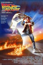 """20X13""""  Nice Silk Fabric Cloth Wall Poster Print Movie Back To The Future 1 2 3"""