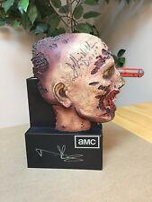 Walking Dead Season 2 Blu Ray Zombie Head Autograph Signed JSA PSA Norman Reedus