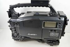 Lot of 2 Ikegami DVCAM HL-DV7AWN Recorder Wide Screen Digital Production Camera