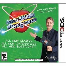 Are You Smarter Than a 5th Grader (Nintendo 3DS, 2015) new