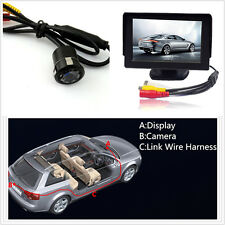 "8LED 18.5mm Night Vision CCD Rear View Parking Camera + 4.3"" Display Screen Kits"
