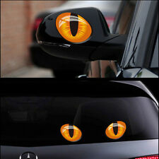 Car Rear View Mirror Side Back Window Funny Sticker 3D Reflective for Mini Coope