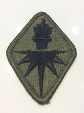 VIETNAM ERA  PATCH U.S. ARMY INTELLIGENCE CENTER SUBDUED MERROW PATCH