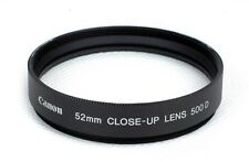 JP NEW Canon 52mm close-up lens 500D made in Japan, Macro Close Up lens  Filter