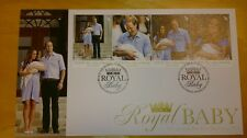 New Zealand Royal Visit Baby Prince George Cambridge William Kate stamp FDC 2013