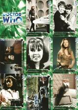 Dr Doctor Who Trilogy Full 200 Card Base Set of Trading Cards from Strictly Ink