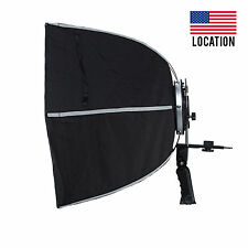 Foldable Selens Hexagonal Umbrella Speedlight Softbox Diameter 60cm Photo