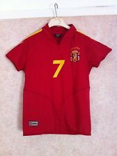 RAUL 7 Spain football shirt jersey trikot maglia FOR CHILDREN kids BOYS Espana