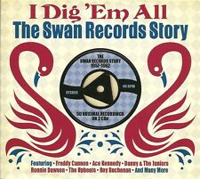 I DIG 'EM ALL THE SWAN RECORDS STORY 1957 - 1962 - 2 CD BOX SET