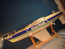 Vintage Sailing Yacht tether RC KYOSHO FAIRWIND II in box looks complete ???