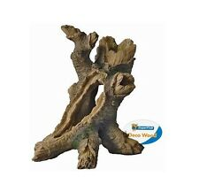 Tronc d'arbre poisson grotte aquarium ornement fish tank hollow log bois décoration