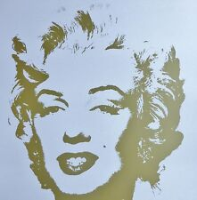 ANDY WARHOL GOLDEN MARILYN MONROE SUNDAY B.MORNING LIMITED EDITION 11.41 COA