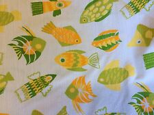 FABRIC FINDERS #372 SEERSUCKER- FISH-60 INCH WIDE--BY THE YARD