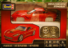 2014 Chevrolet Corvette Stingray C 7 Rot, 1:25, Revell 4350 neu 2015 neu NewTool