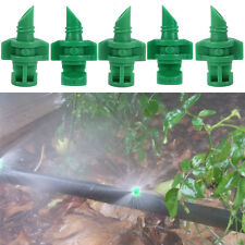 10Pcs Micro Garden Lawn Water Spray Misting Nozzle Sprinkler Irrigation