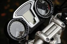 BMW R Nine T  R9T Techometer and Speedometer Ring Cover (Silver & Black & Gold)