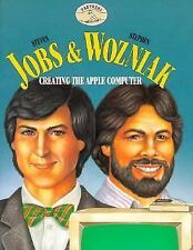 Steven Jobs & Stephen Wozniak: Creating the Apple Computer (Partners)-ExLibrary