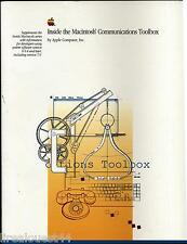 Inside the Macintosh Communications Toolbox Addison-wesley publishing company 91