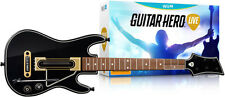 Official Guitar Hero Live Double Guitar Bundle Wii U Game + Warranty!!