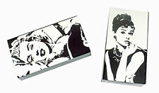 Joy of Light Designer Matches Marilyn Monroe & Audrey Hepburn Set 2 Matchboxes