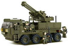 ARMY ARTILLERY TRUCK 306 pcs Bricks Army Military Car Troops Land Forces Vehicle