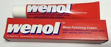 50g. WENOL METAL POLISH CLEANER ALL FOR BRASS COPPER STAINLESS STEEL TUBE RED