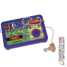 CRYSTAL RADIO MAKE YOUR OWN KIT SET NO BATTERIES REQUIRED discovery toy gift