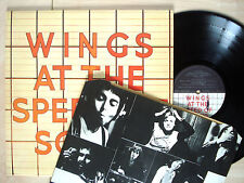 Wings At The Speed Of Sound + Inner -5U -5U UK LP MPL PAS 10010