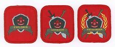 SCOUTS OF SINGAPORE - Venture Scout (Senior Scout) Rank Award Patch