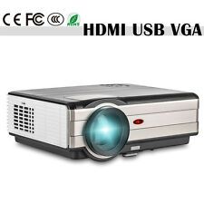 LED Home Use Theater Projector 4000lumens Cinema 1024*768 Support 1080p HDMI USB