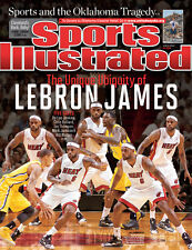 June 3, 2013 Lebron James Miami Heat Sports Illustrated NO LABEL Newsstand A
