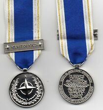 NATO  MERITORIOUS SERVICE MEDAL - FULL-SIZE MEDAL WITH RIBBON