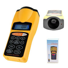 ULTRASONIC LCD TAPE MEASURE DISTANCE METER & LASER POINTER RANGE FINDER UK STOCK