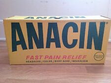 giant anacin doctors office advertising store display box