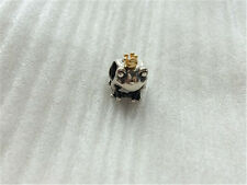 Autnentic Pandora Sterling Silver Charm 14K Gold Frog Prince Charm 791118