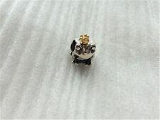 Autnentic Pandora Sterling Silver Charm 14K Gold Frog Prince Charm 791118