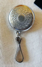 Vintage Key Watch FOB BROOCH Rare Pull Chain Pin Signed KETCHAM McDUGALL
