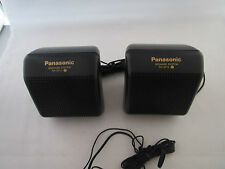 Panasonic Two In One Speakers System With Stereo Earphones