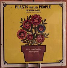 Jerry Baker Plants are Like People Lp Sealed Rare