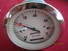 Teleflex 7K RPM Tachometer W/Hour Meter (For  OUTBOARD ONLY).P# 59651F