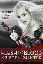 Flesh and Blood (House of Comarré)-ExLibrary