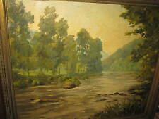 CAMPENHOUT Roni van, *XX.Jhd. Wundervolle Flusslandschaft